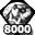 Diamond Army Medal - 8000 PTS
