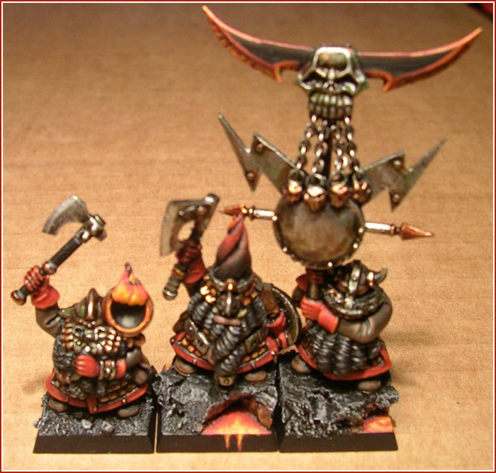 Chaos Dwarf Command