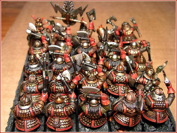 Chaos Dwarf Warriors