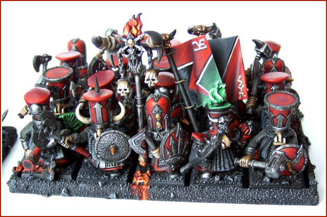 Chaos Dwarf Warrior Unit