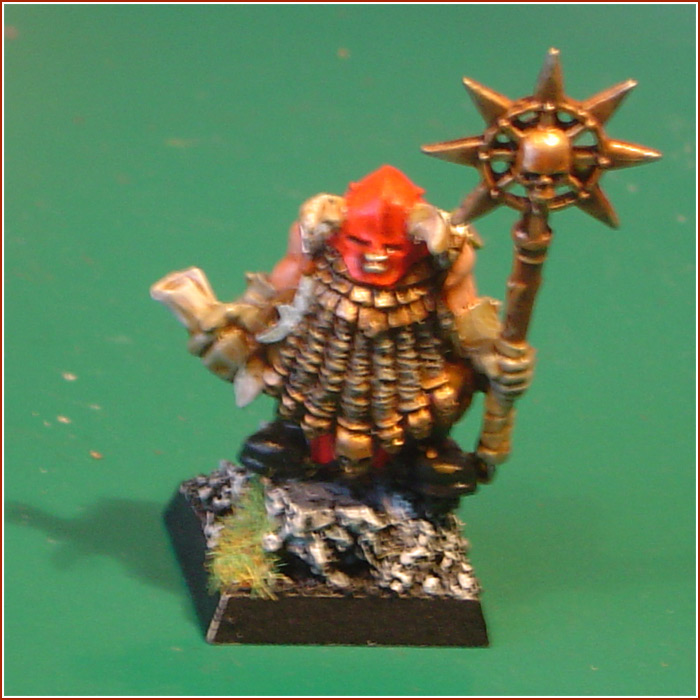 Classic  rd edition Chaos Dwarf Warriors that won Silver at the UK Golden Demon in       Total War Center
